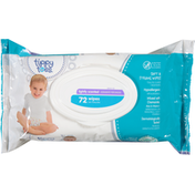 Tippy Toes Wipes, Soft & Strong, Lightly Scented