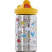 Camelbak Bottle, SST Vacuum Insulated, Rainbow Love, Kids, 12 Ounce