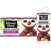 Minute Maid Mixed Berry Juice 100, Fruit Juice Drinks