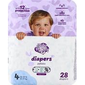 Always My Baby Diapers, 4 (22-37 lb)