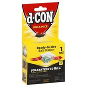 d-CON Bait Station, Ready-to-Use, Disposable