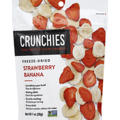 Crunchies Strawberry Banana, Freeze-Dried