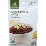 Simply Organic Seasoning Mix, Vegetarian Chili
