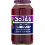 Unsalted Borscht