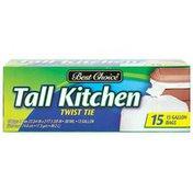 Best Choice Gallon Tall Kitchen Flap Tie Bags