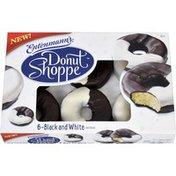 Entenmann's Donut Shoppe Black and White Donuts