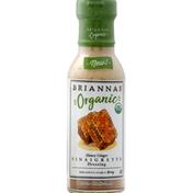 Brianna's Vinaigrette Dressing, Organic, Honey Ginger