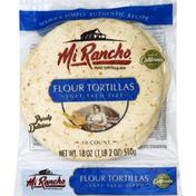 Mi Rancho Tortillas, Flour, Soft Taco Size