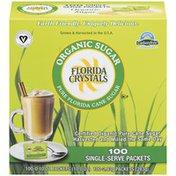 Florida Crystals Pure Florida Cane 0.10 Oz Packets Organic Sugar