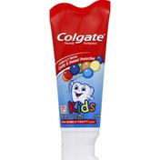 Colgate Toothpaste, Fluoride, Mild Bubble Fruit Flavor