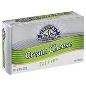 Crystal Farms Cream Cheese, Fat Free