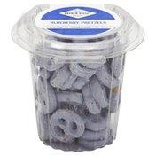 Hayden Valley Pretzels, Blueberry Flavored Yogurt