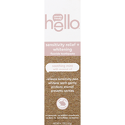 hello Toothpaste, Fluoride, Sensitivity Relief + Whitening, Soothing Mint with Coconut Oil