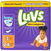 Luvs Ultra Leakguards Diapers Size 3 24 count Diapers