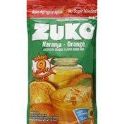 Zuko Drink Mix, Artificial Orange Flavor