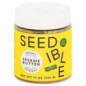 Seedible Sesame Butter, Original, Creamy