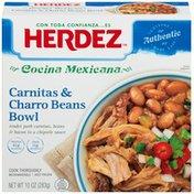Herdez Carnitas & Charro Beans