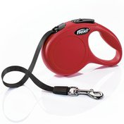 Flexi Extra Small 10-Foot Red Classic Retractable Tape Leash