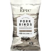 Epic Sea Salt & Pepper Pork Rinds, Keto Friendly, Paleo Friendly