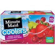 Minute Maid Berry Punch Pouch
