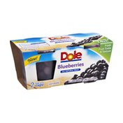 Dole Blueberries All Natural Fruit Cups - 2 CT