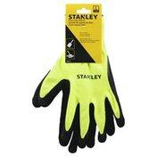 Stanley Gloves, Foam Latex, Large