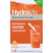 Hydralyte Electrolyte Powder, Orange