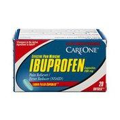 CareOne Ibuprofen Liquid Filled Capsules Pain Reliever/Fever Reducer - 20 CT