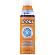 Equaline Sunscreen, Continuous Spray, Broad Spectrum SPF 30