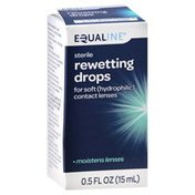 Equaline Rewetting Drops, Sterile