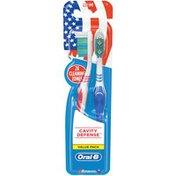 Oral-B Manual Oral-B Cavity Defense Manual Toothbrush, 2 ct. 40 Med