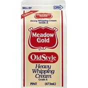 Meadow Gold Cream Heavy Whipping 40% Fresh Stabilized Oldstyle   Gable Top