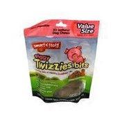 Smart n' Tasty All Natural Dog Chews Piggy Twizzies Bits