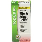 TopCare Instant Bite & Sting Relief With Aloe Vera Gel And Chamomile