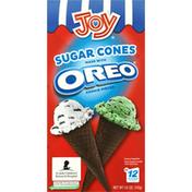 Joy Sugar Cones, Made with Oreo