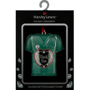 Harvey Lewis Holiday Ornament, Medical Worker