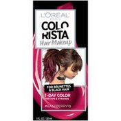 Colorista Hair Makeup 1-Day Hair Color Raspberry10 (for brunettes)