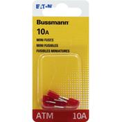 Bussmann Fuses, Mini, 10A