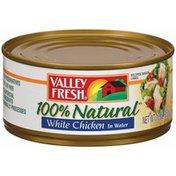 Valley Fresh 100% Natural White Chicken In Water