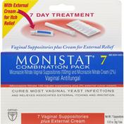 MONISTAT Vaginal Antifungal Combination Pack