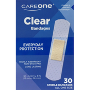 CareOne Sterile Clear Bandages