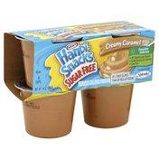 Handi Snacks Reduced Calorie Pudding, Sugar Free, Creamy Caramel