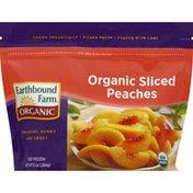 Earthbound Farms Peaches, Organic, Sliced