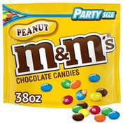 M&M's Peanut Milk Chocolate Candy Party Size