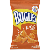 Bugles Nacho Cheese Flavor Crispy Corn Snacks