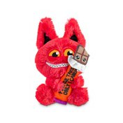 """6"""" Halloween Red Grd Monster Plush With LED Dog Toy"""