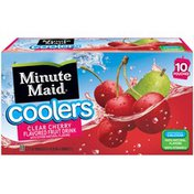 Minute Maid Coolers 200 mL Pouch Clear Cherry