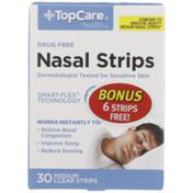 TopCare Medium Nasal Strips, Clear