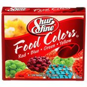 Shurfine Red, Blue, Green, Yellow Food Colors