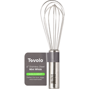 Tovolo Whisk, Mini, 6 Inch, Stainless Steel, Small & Mighty